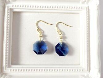 14kgf watercolors pierce 《blue sapphire》の画像