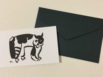 封筒付きカード サイレントシネマ 2セットの画像