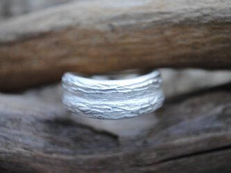 「L様オーダー品」木の幹ピンキーリングの画像
