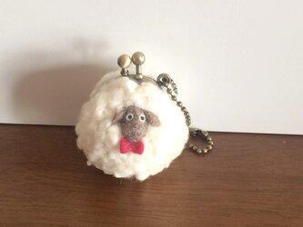 羊のがま口の画像