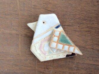 鳥ブローチ(№247)の画像