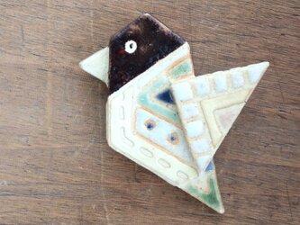 鳥ブローチ(№248)の画像