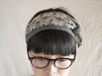 new▼patchwork turban<zigzag>の画像