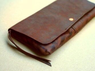やわらかい革の長財布 OIL GOAT(オイル山羊革)の画像