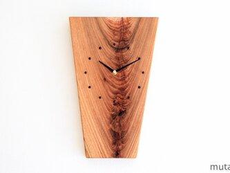 クルミの壁掛け時計9の画像
