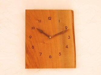 掛け時計 桜材⑤の画像