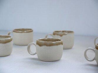 白土デミタスカップの画像