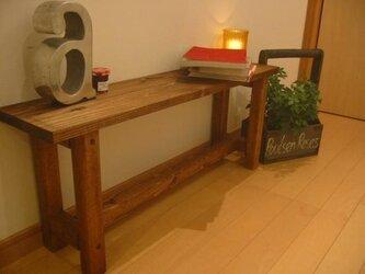 小さなテーブル 【ブラウン】の画像