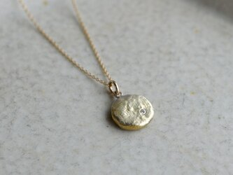 tegone  まる Pendant (K10GG・Diamond)の画像