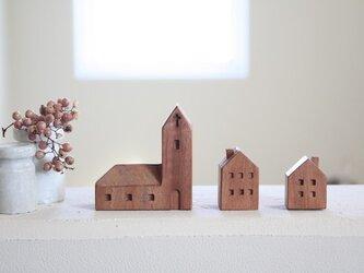 小さな木の家 ー教会30ーの画像