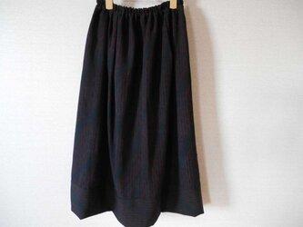 アンティークな立湧模様羽織りのリメイクスカートの画像