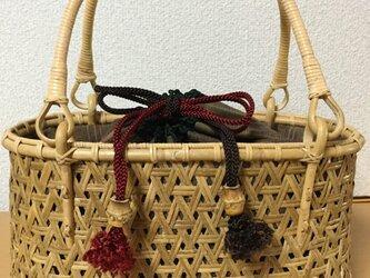 鉄線編みバッグの画像