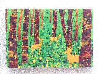 夏の森(転写)の画像