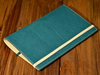 yoshinao様オーダー イタリアンレザー A5スリムサイズ手帳カバーの画像