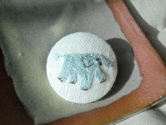 ゾウ(淡い青)の画像
