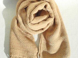 〈手織り〉ストール*摸紗茶の画像