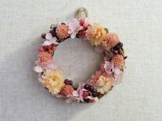 ふんわり可愛い♡ピンクのミニリース♪ No.2の画像