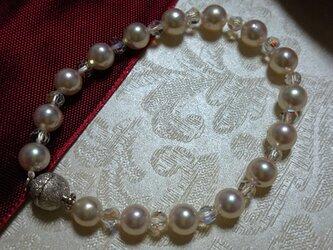 あこや本真珠  ブレスレットの画像