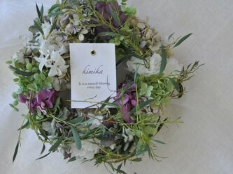 season wreath.芽吹きの画像