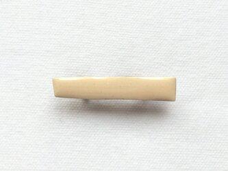 STICK brooch (ivory#1)の画像