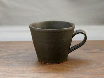 黒結晶釉 マグカップ(無地)の画像