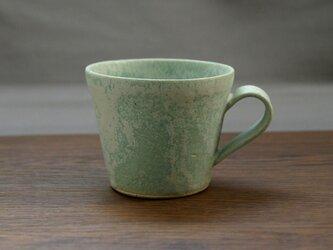 錆青磁釉 マグカップ(無地)の画像