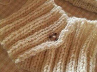 手編み*ネックウォーマーの画像