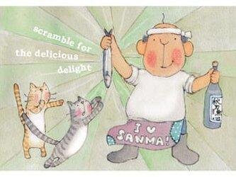 ポストカード Scramble For The Delicious Delight (spc-042)の画像