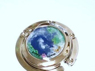 *terra*地球シリーズ~折りたたみ式バッグハンガーの画像