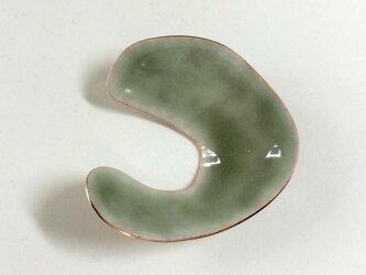 KONOJI brooch (green)の画像