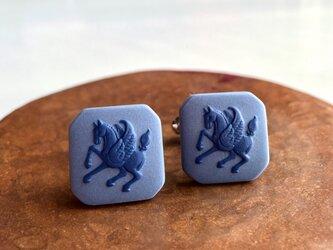 ペガサスカフス(紺×青)の画像