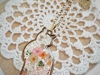 猫のネックレス*flower*の画像