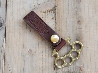 Leather Belt Loop - Long Type - #004の画像