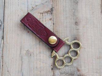 Leather Belt Loop - Long Type - #005の画像