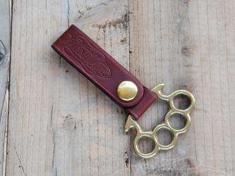 Leather Belt Loop - Long Type - #007の画像