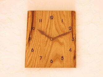掛け時計 栗⑤の画像
