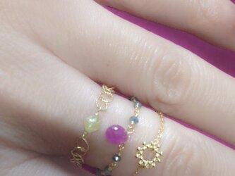 K18 namaste ringの画像