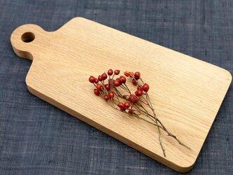 ナラ材のカッティングボード  小の画像