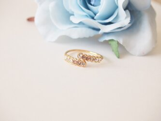swarovski crystal ringの画像
