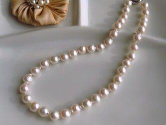 最大10mm!!あこや真珠ネックレス MN0516-009の画像