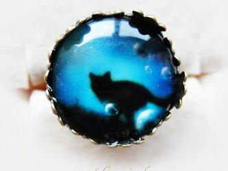 黒猫☆リングの画像
