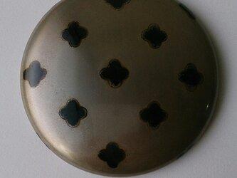 蒔絵姫鏡『黒花 銀地』の画像