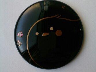 蒔絵姫鏡『とりさん』の画像
