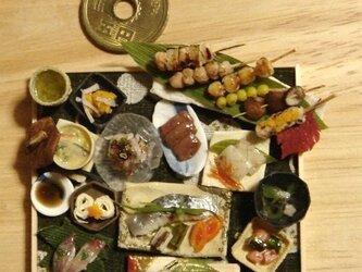 ★サワラ蒸し煮&串焼き御膳の画像