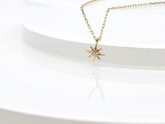 K10 SunMotif Necklaceの画像