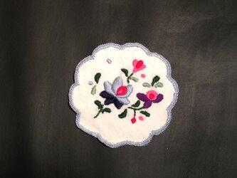 刺繍コースター 2の画像