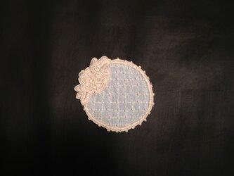 刺繍ミニドイリーの画像