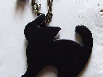 『星ふる夜の猫-ガラスの星-』バッグチャームの画像