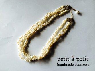 限定1点*potato pearl necklace nn80*の画像