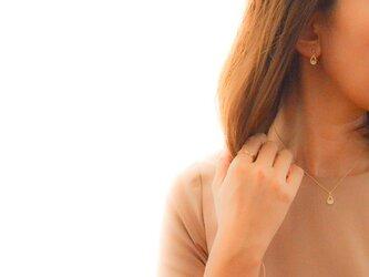 Drop Zirconia Pierce/Earringの画像